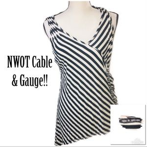 ‼️NWOT CABLE & GAUGE High Low Sleeveless Top!‼️